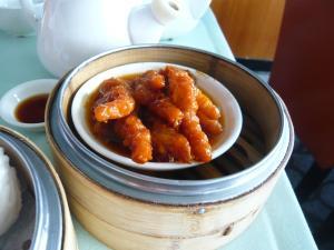 chicken feet from dim sum in Hong Kong