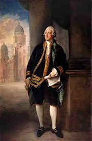 The Earl of Sandwhich (photo from Wiki)