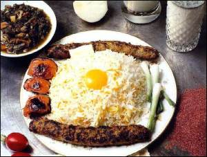 Chelo Kebab (photo from IranChamber.com)