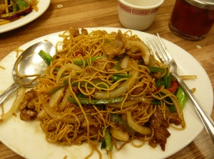 Mongolian Beef Chow Mein (Noodles for Luck!)
