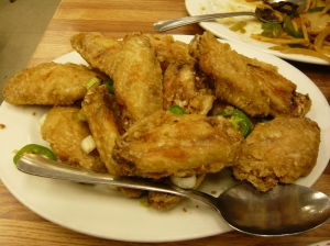 Capital's Famous Salt & Pepper Chicken Wings