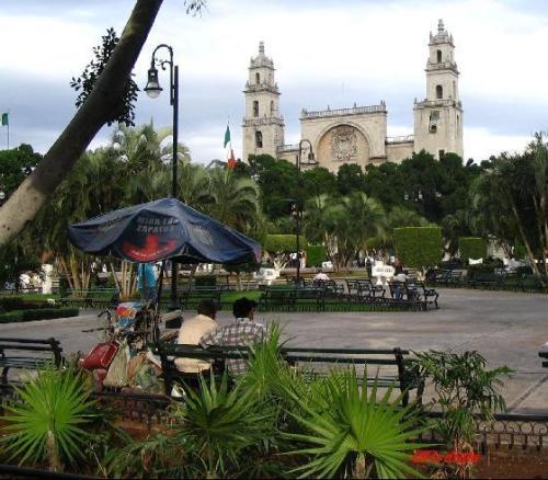 Plaza in Merida