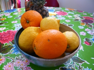 oranges and lemons - Spring is here!