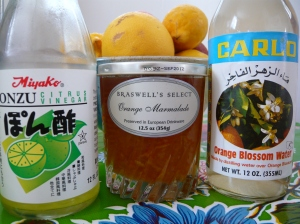 3 citrus based products in my kitchen